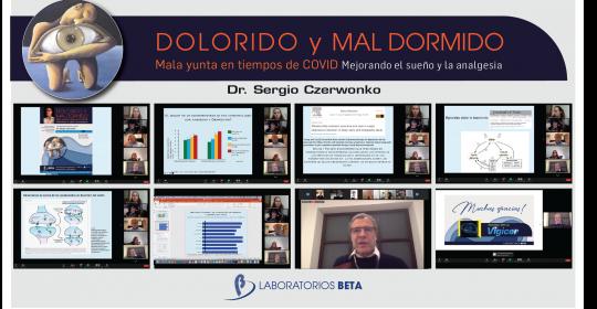 DOLORIDO Y MAL DORMIDO Mala yunta en tiempos de COVID – Mejorando el sueño y la analgesia